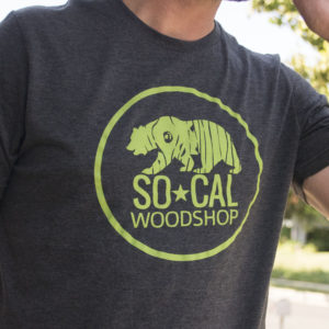 SoCal Woodshop graphic tee
